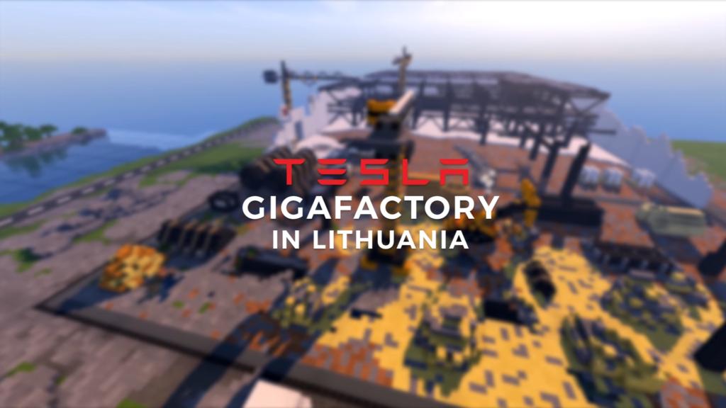 Actualités La Lituanie veut son #39 Tesla Gigafactory 2 #39 alors ils l #39 ont construit dans