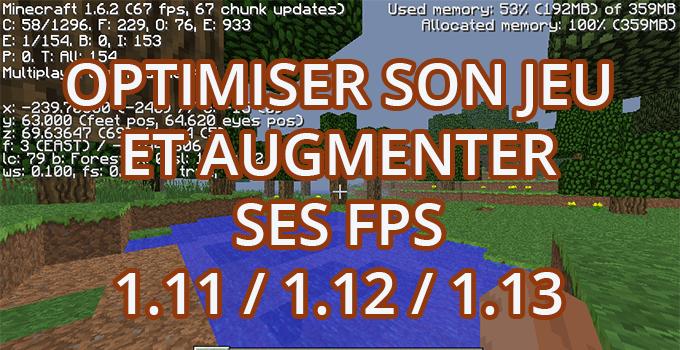 augmenter ses fps minecraft mac